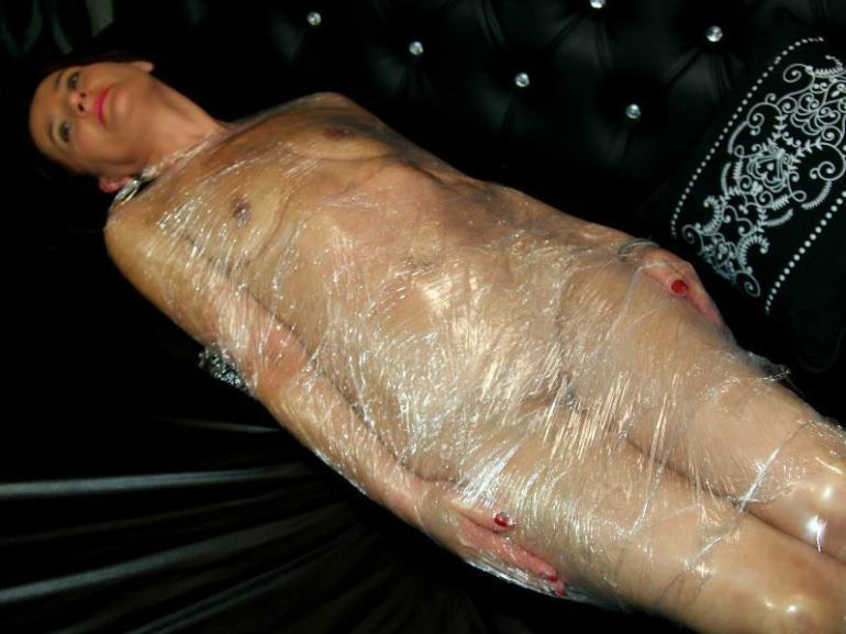 mummification bondage stories