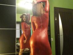 mistres sin latex dress