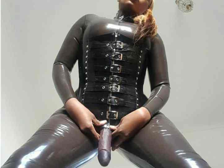 black strapon girl