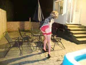 humiliated sissy