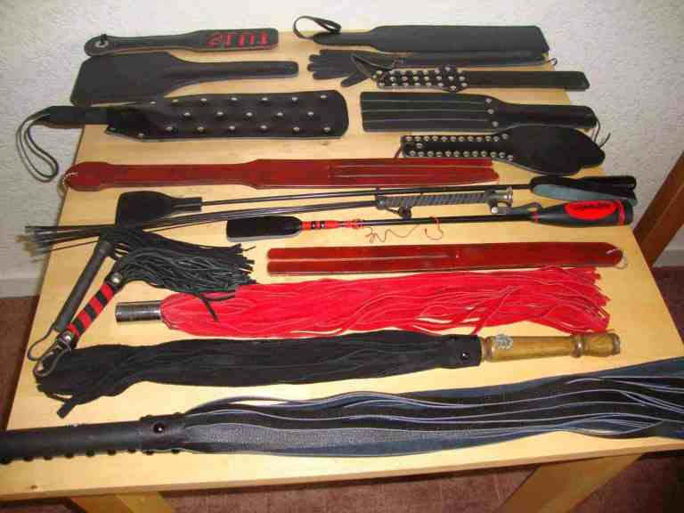 bdsm tools, impact play tools