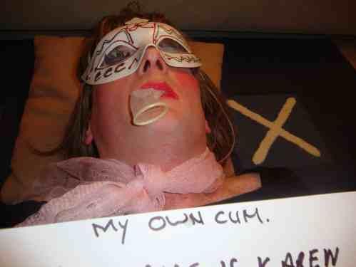 sissy cum eating slut