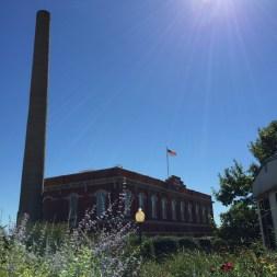 Historic Water Filter Building at White Rock Lake