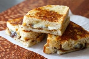 not your mother's grilled cheese