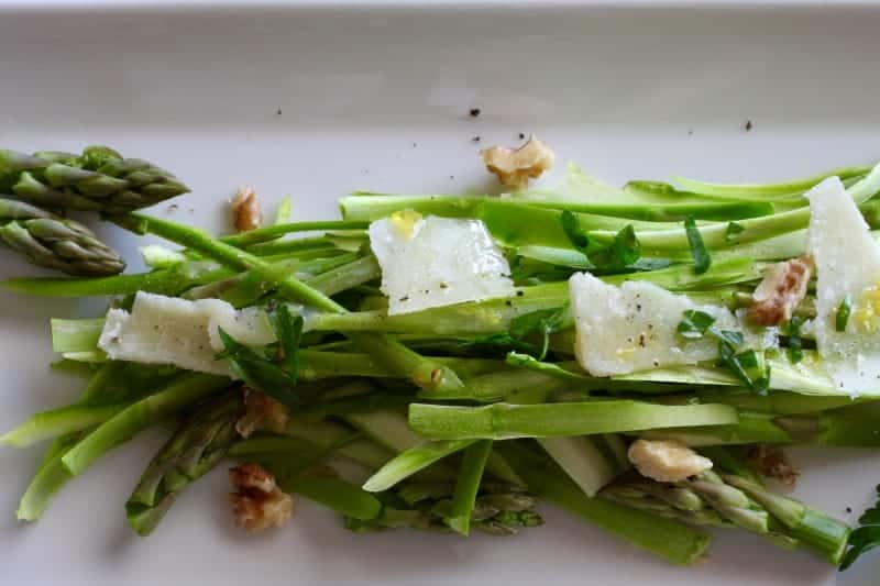 Asparagus Walnut Salad Recipe   a beautiful recipe to celebrate spring! www.LiveBest.info