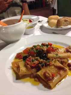 Tuna, tomato, olive pasta