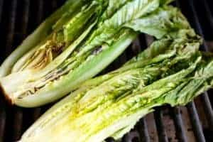 Romaine-grilled