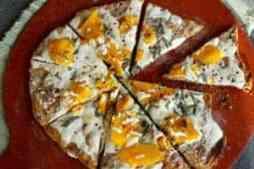 Squash Sage Pizza