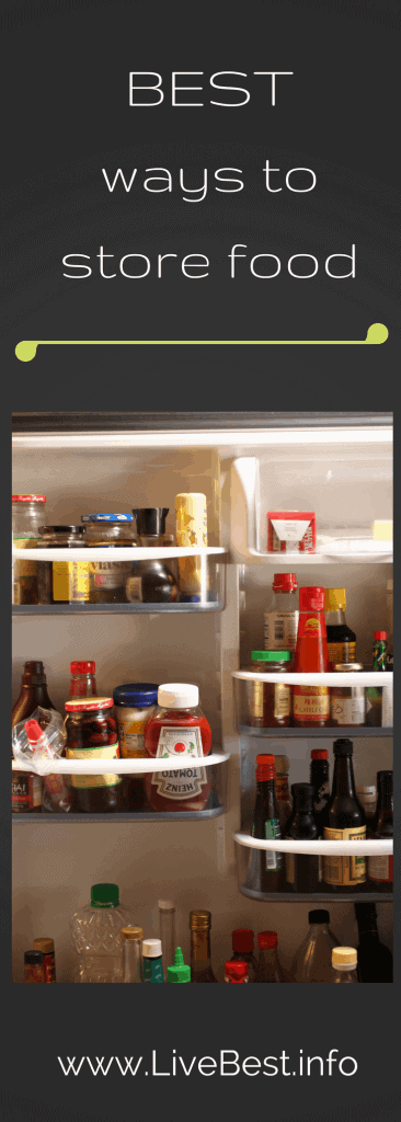 From spices to nuts, here are the best ways to store food. www.LiveBest.info