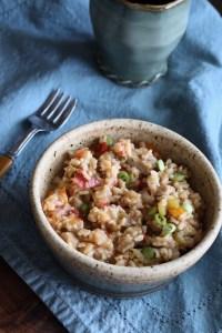 bowl of Chicken Jambalaya