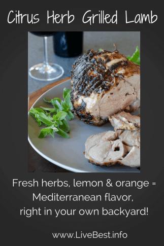 Citrus Herb Grilled Lamb