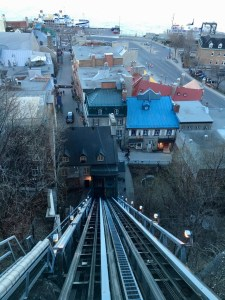 Quebec City funicular