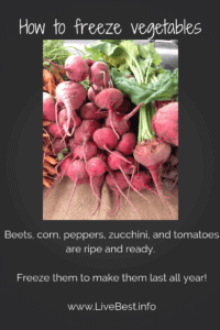 How to freeze vegetables Corn Jalapeno Soup recipe
