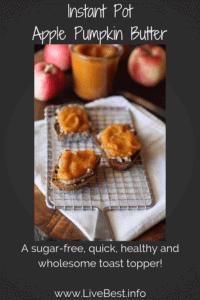 No-sugar Instant Pot Apple Pumpkin Butter