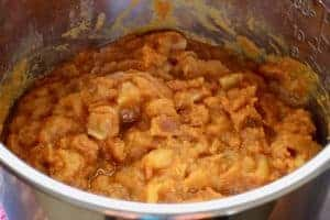 Instant Pot no-sugar apple pumpkin butter