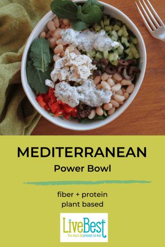 Mediterranean Quinoa Power Bowl