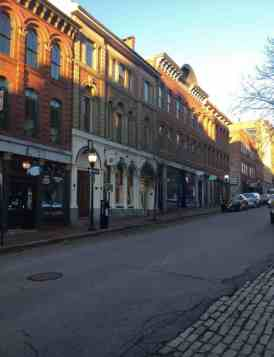 photo of downtown Portland Maine