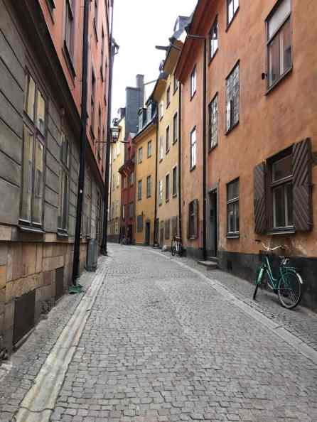 cobblestone street stockholm