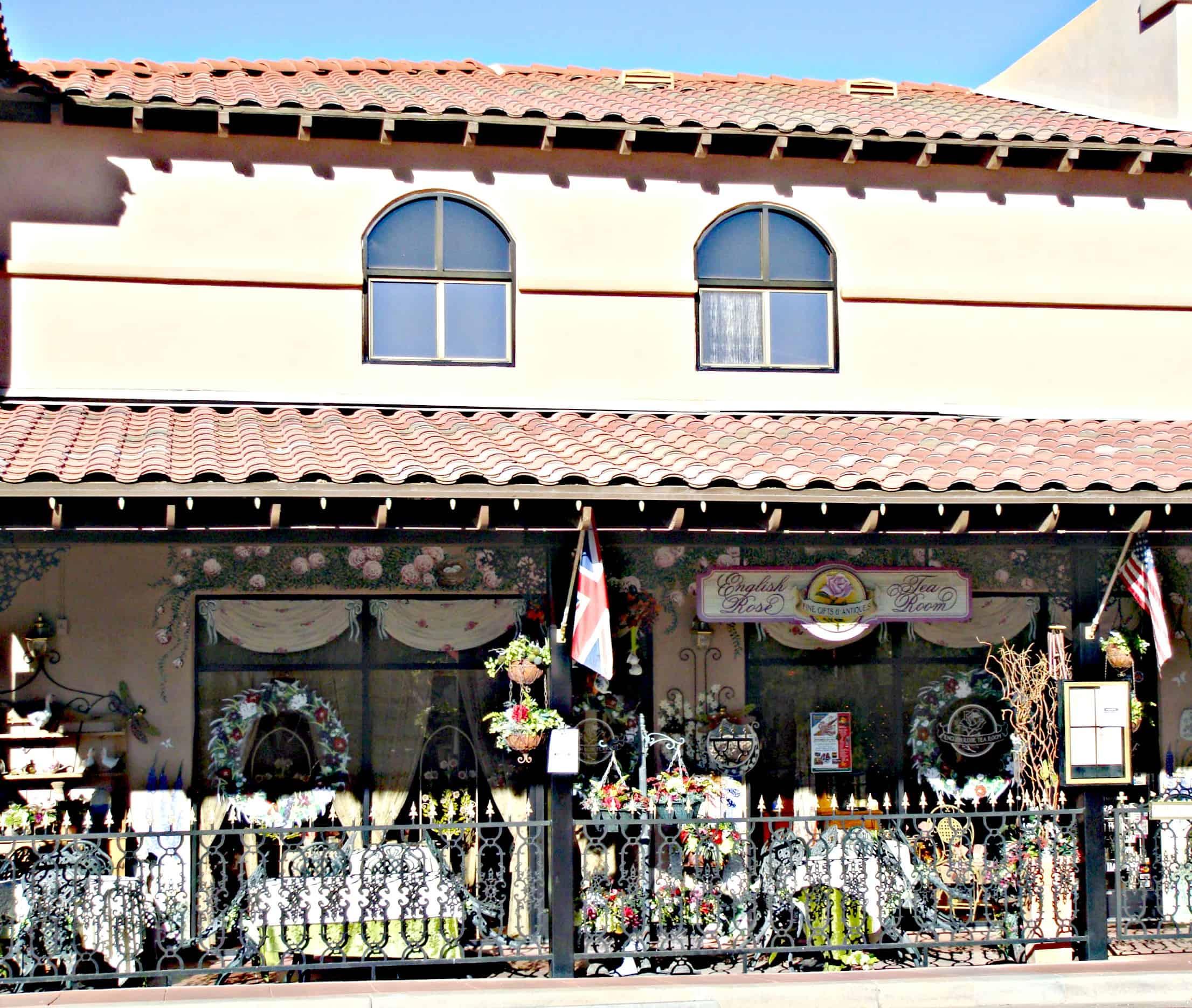 Where To Eat In Scottsdale Az The English Rose Tea Room