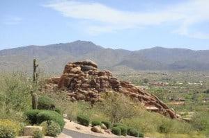 Carefree rock outcrop