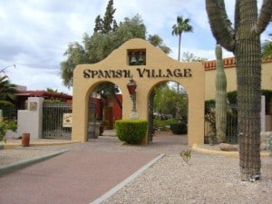 Spanish Village Carefree AZ Shopping
