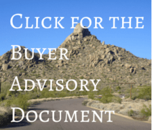 Click for the Buyer Advisory Documentt