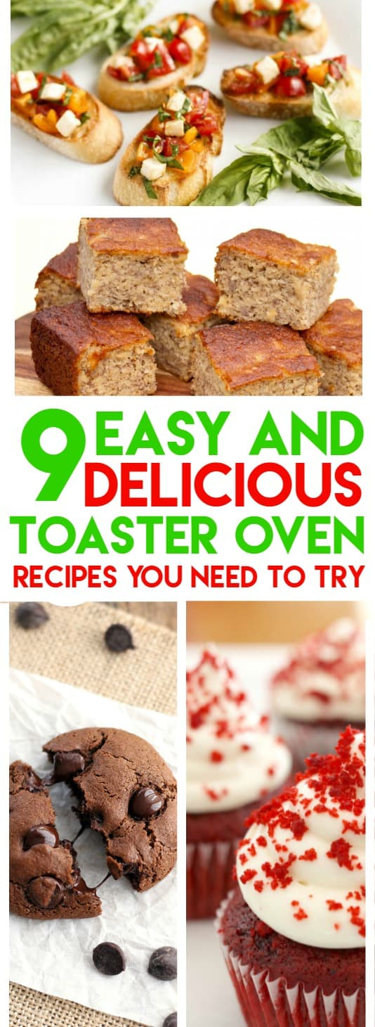 easy toaster oven recipes