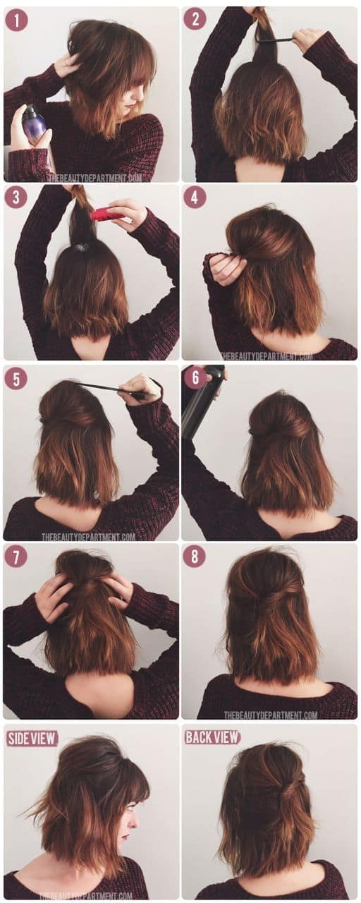 easy hairdo for everyday