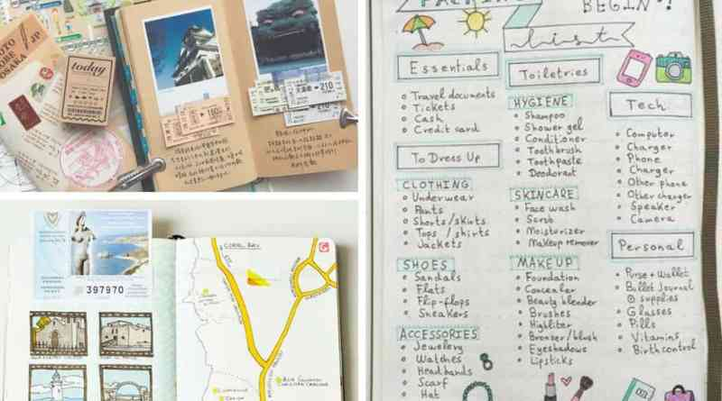 DIY Travel Journal Ideas