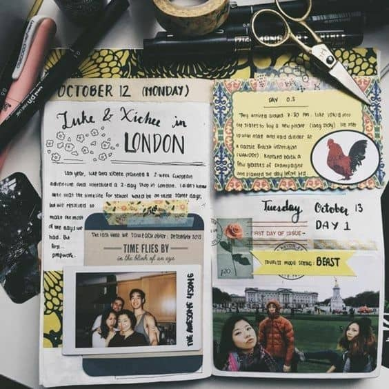 DIY Travel Journal Ideas