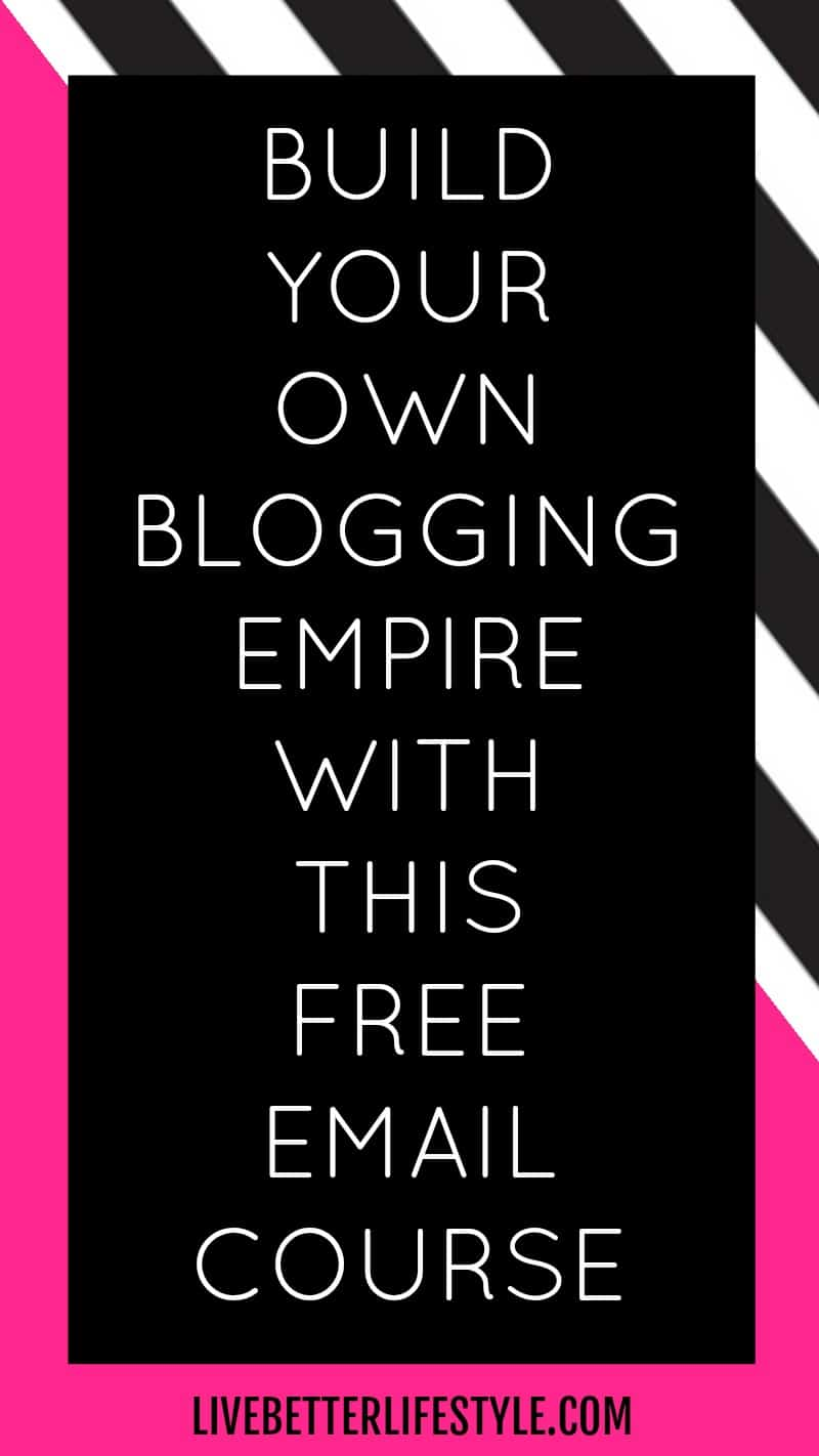 email course on how to build a profitable blog