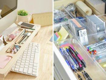 smart home office desk organization ideas