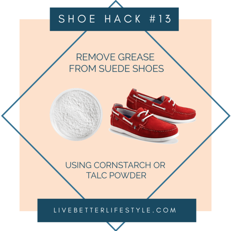 shoe hacks and tips