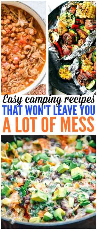 easy camping recipes that anyone can make