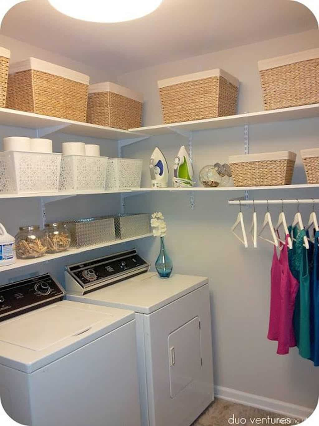 20 Laundry Room Organization Ideas That Can Function ... on Laundry Room Organization Ideas  id=55513