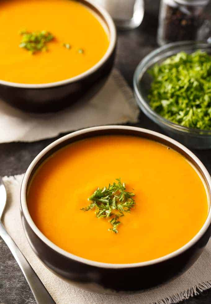 Healthy pureed vegetable soup recipes