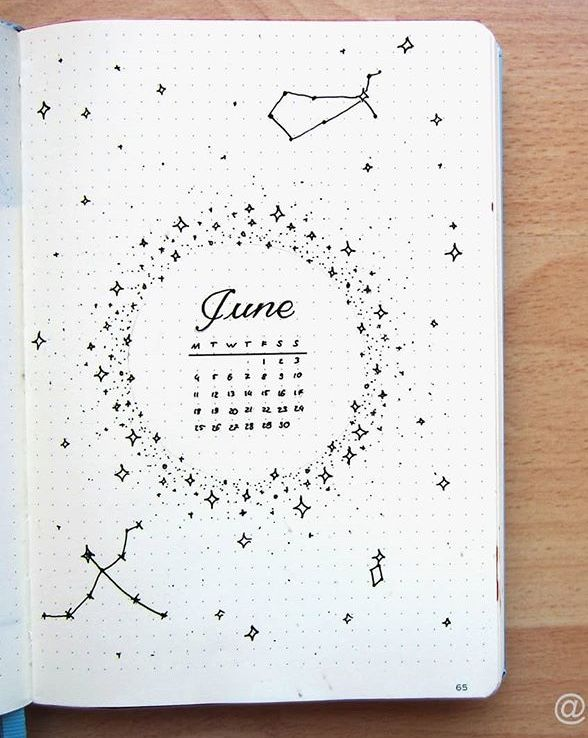 Gorgeous Bullet Journal Calendar Ideas To Copy