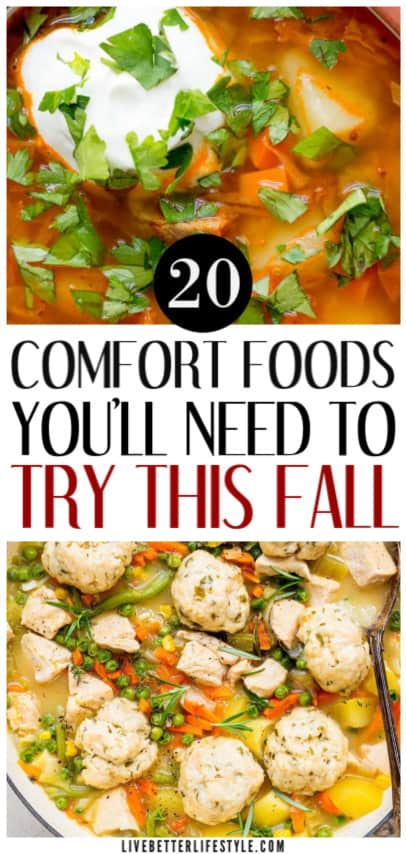 comforting autumn recipes