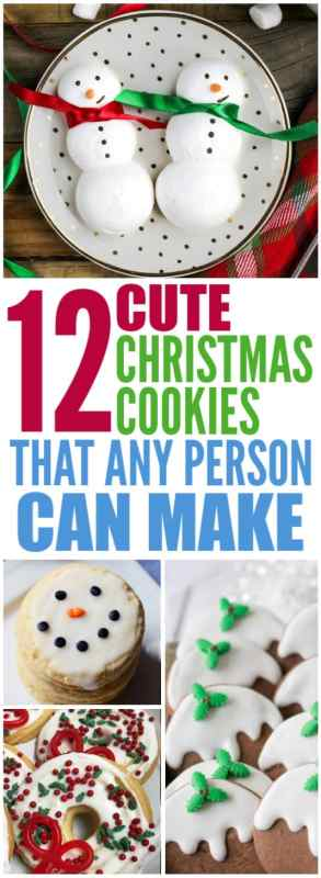 12 Easy Christmas Cookie Recipes Live Better Lifestyle
