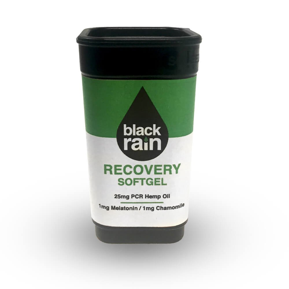 Black Rain CBD Softgel Recovery