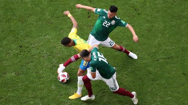 Image result for brazil vs mexico 2018