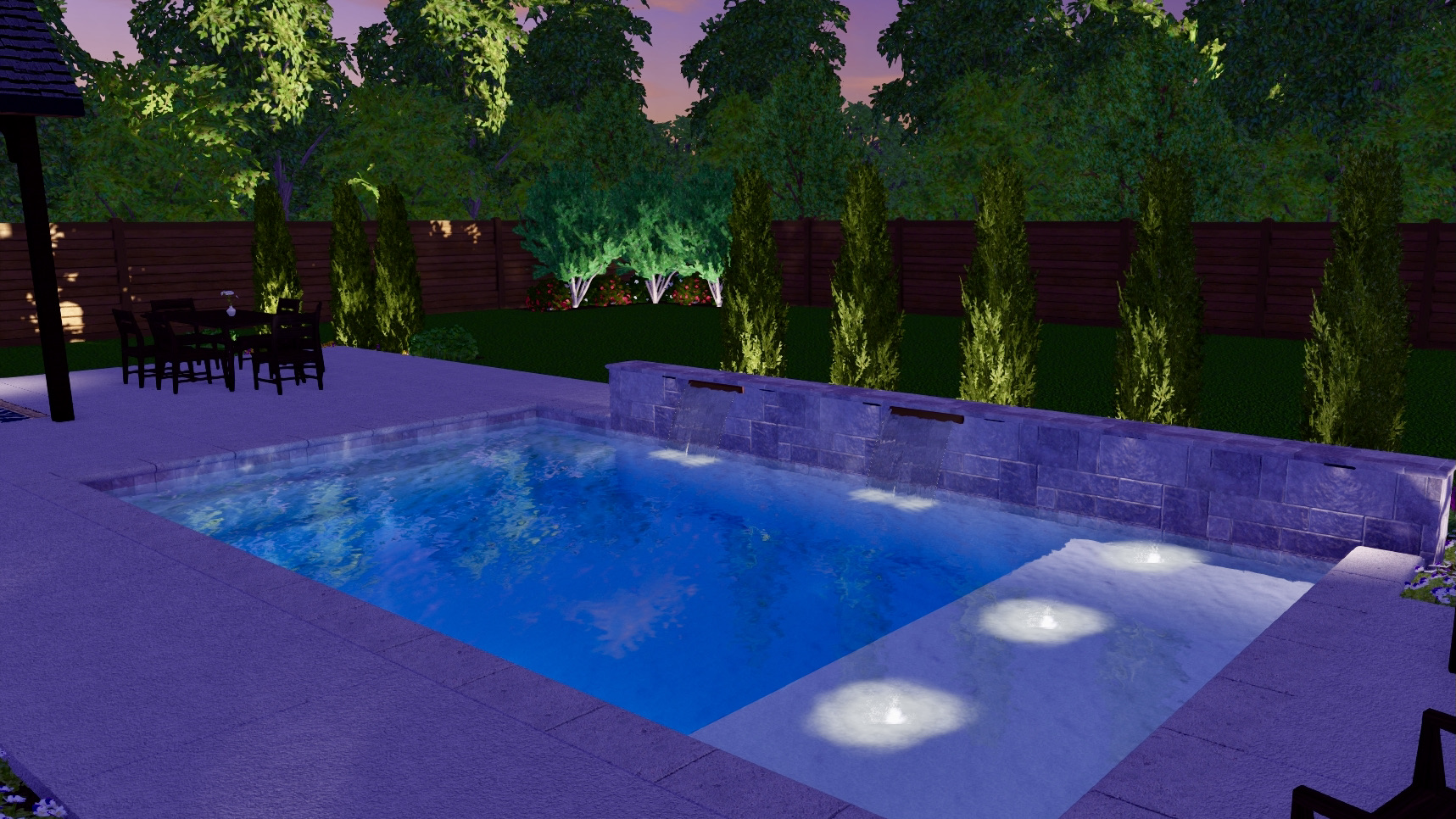 2021 04 South Tulsa Custom Gunite Pool Deck Outdoor Kitchen BF6EA179AFD7