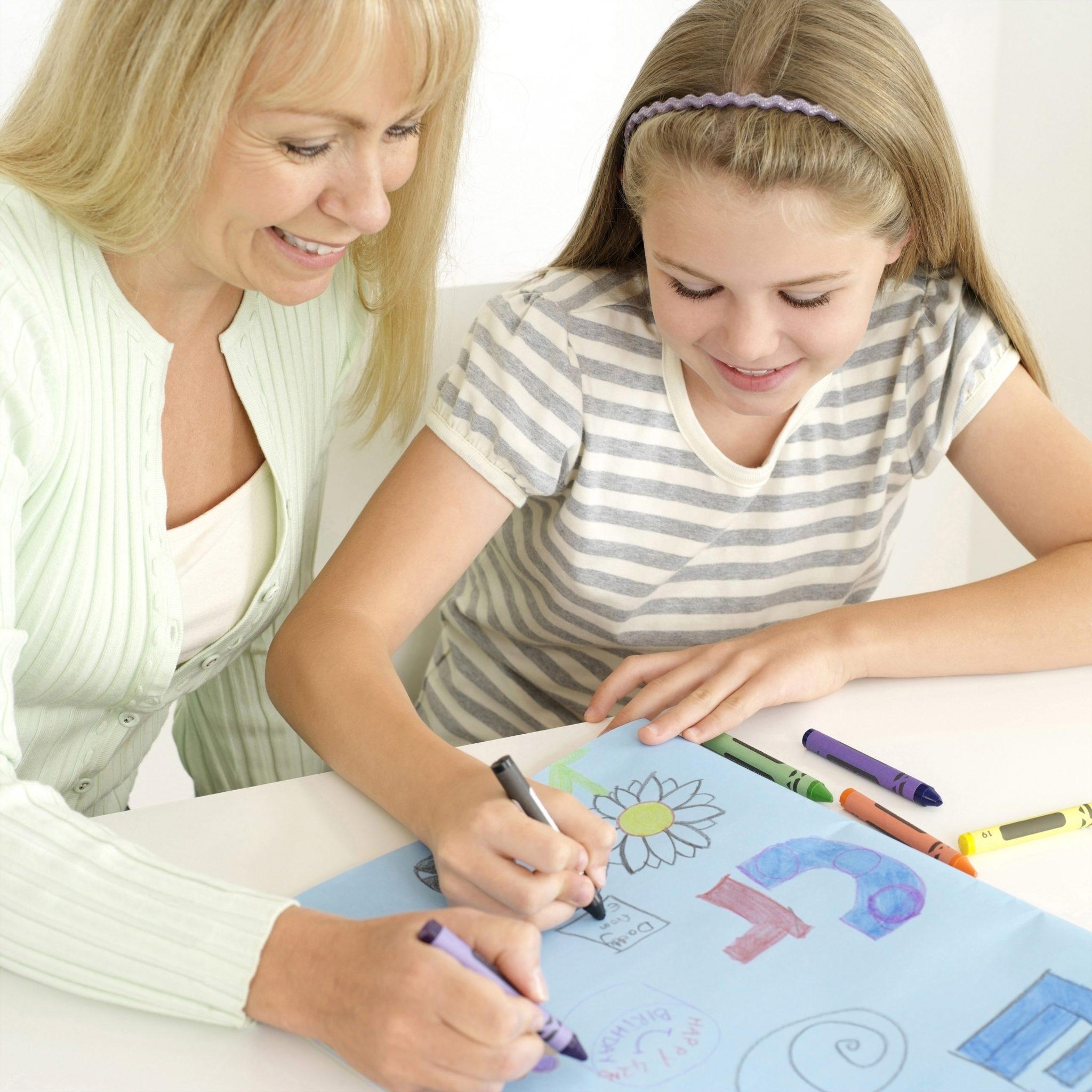 The Purple Crayon - Encouraging Creativity in your Children