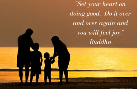To Feel Happiness, Set Your Heart on Doing Good #1000Speak
