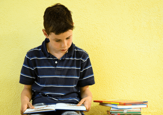 What Happens When A Writer's Son Can't Read?