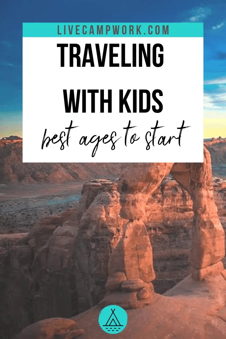 Traveling with kid is enjoyable at every age, but parents know they are some reasons why specific ages offer more flexibility among other advantages. Plan your travels and RV road trips with your kids in mind!