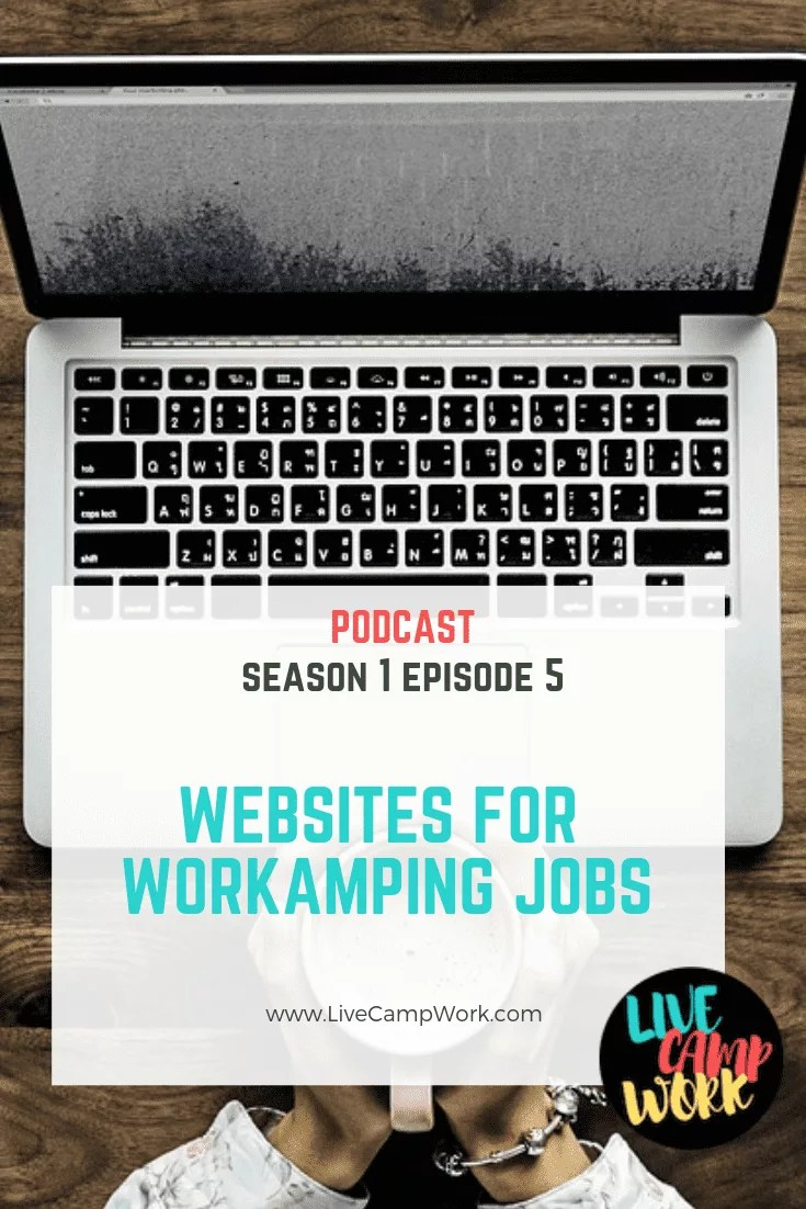Websites where you can find Workamping jobs and jobs for RVers that are remote, location independent, part-time, seasonal, and full-time.