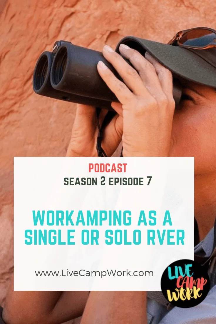 Do you travel solo? Do you only need 1 Workamping job? Check out this post on Workamping as a single or solo traveler for information and resources you can use to grab grab jobs now!