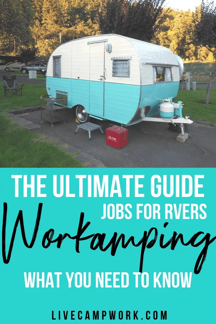 Workamping Jobs for RVers