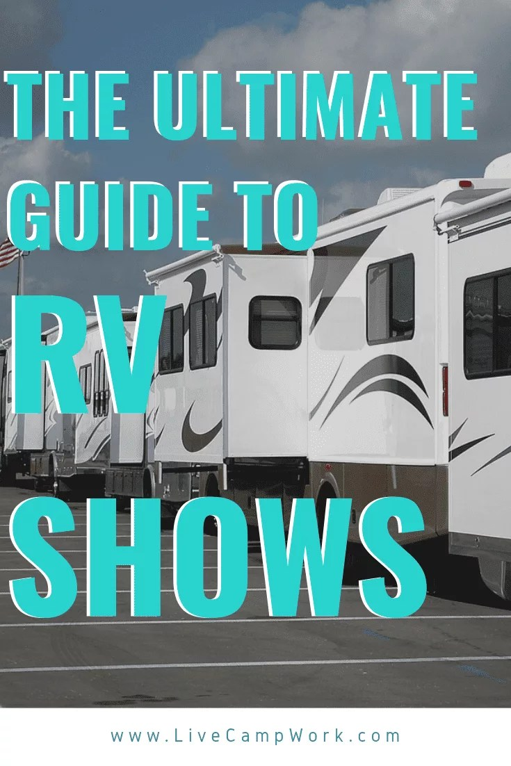 Attending an RV show this year, will allow you to learn about the RV lifestyle in general as well as how to travel or live in an RV- if that is your intent! It can also just be a fun day full of RV resources from the RV industries top experts where you learn something new or something that could save you cash down the road!!!